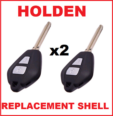 2 x Holden Rodeo Colorado 2 BUTONS REMOTE KEY CASE SHELL REPLACEMENTFOR DMAX