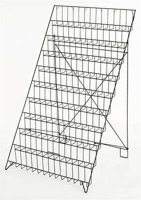 New 10 Tier Rack Wire Display Magazine Newspaper Books Usborne Event