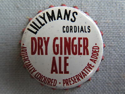 Crown Seal Bottle Cap Lillymans Dry Ginger Ale Moree Qld Australia Mint Unused
