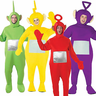 Teletubbies Costume Party Fancy Dress Up Licensed Outfit Unisex
