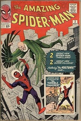 Amazing Spider-Man #2 - VG-