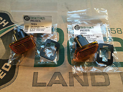 Bearmach Discovery 1 Oem Amber Side Wing Repeater Indicator Lamp Lens Prc9916