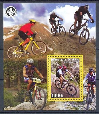 (016379) Scouting, Bicycle, Benin - Private issue -