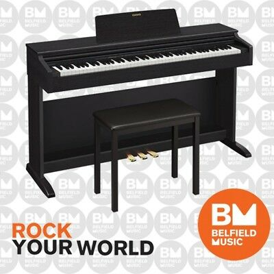 Casio Celviano AP260 Digital Electronic Piano Black 88 Key Cabinet w/ Bench