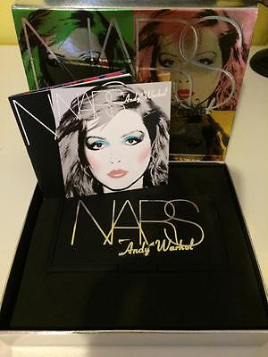 NEW Nars Andy Warhol Debbie Harry Eyeshadow And Blush Palette Makeup Set