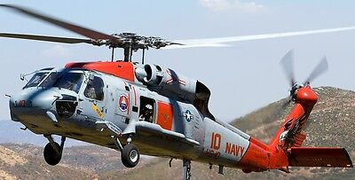 SH-60 Seahawk US Navy Sikorsky SH60 Helicopter Kiln Wood Model Replica Small New