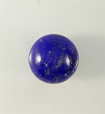 Gemstone Lapis 15mm Round Cabochon 13ct
