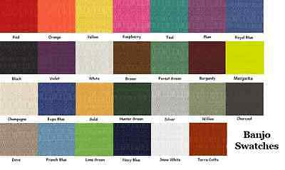 20+ Colors 8ft. Banjo Decorative Drape