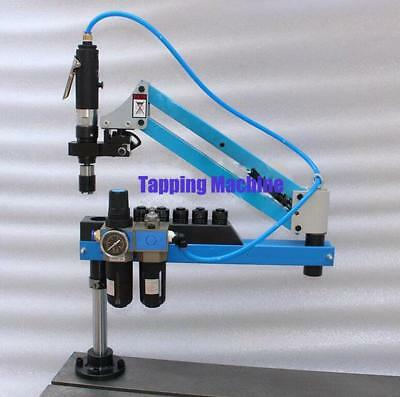Universal Flexible Arm Pneumatic Air Tapping Machine 360° Angle 1000mm M3-M12