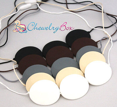 Kelsey Chewelry Box Nursing Mom Silicone Teething Necklace Mother Chew Beads
