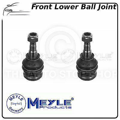 Meyle Front Suspension Lower Control Arm Ball Joints PAIR 3416010002 fits SUBARU
