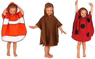 LittleLife ANIMAL PONCHO TOWEL Baby/Child Bathing Beach Various Sizes BNWT