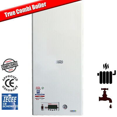 12kW Modulating Electric Combi Boiler for Flats - Central Heating & Hot Water