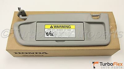 Honda Civic 2006-2008 Driver Side Sun visor Clear Gray NH220L Genuine OEM