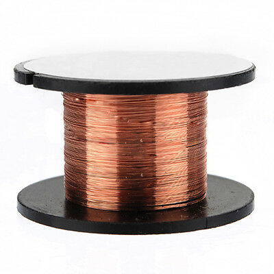 15m 0.1MM Copper Soldering Solder Enamelled Reel Wire Roll Connecting WS