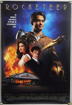 Rocketeer Rolled Intl Orig 1Sh Movie Poster Jennifer Connelly Alan Arkin (1991)