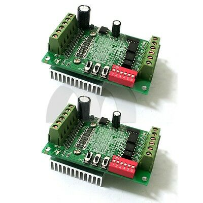 2x Single 1 Axis TB6560 3A Motor Driver Stepper Board CNC Router Controller new