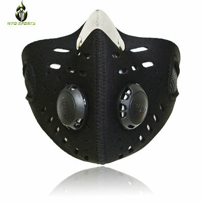 Mouth Muffle Dust Dirt Fog Filter Anti Pollution Cycling Bicycle Motorcycle Mask