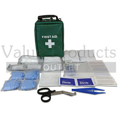 89 Piece Deluxe First Aid Kit Bag - Kids Home Holiday Travel Car Camping Caravan