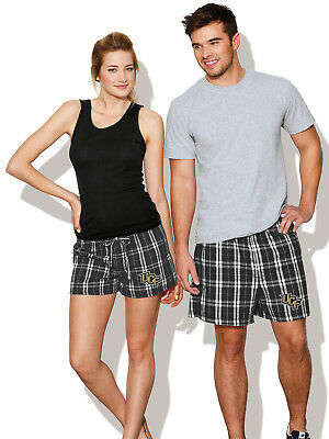 COOL University of Central Florida Boxer Shorts Plaid Boxers GREAT SLEEP  SHORTS c6cf76def4453