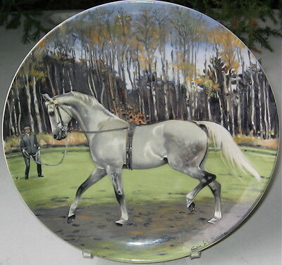 The Hanoverian  Limited Edition Collectors Horse Plate 1989