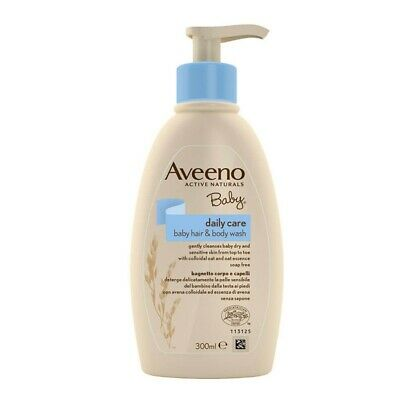 AVEENO Baby Bath For Body And Hair With Colloidal Oatmeal 300 Ml
