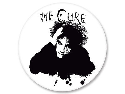 Pin Button Badge Ø38mm The Cure Coldwave New Wave UK