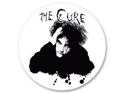 Pin Button Badge Ø25mm The Cure Coldwave New Wave UK