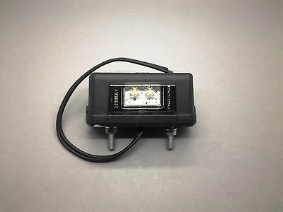 Monark Led 12 V & 24 V Numberplate Lamp For Truck Trailer Car Bike Atv