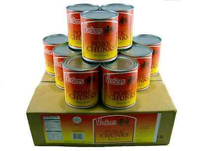 Yoders Canned Pork Chunks *Case of 12* Food Storage* Emergency* Canned Meats