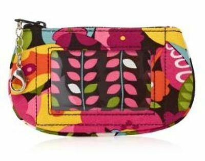 Vera Bradley Va Va Bloom Clip Zip ID -  NWT -- RARE & DISCONTINUED