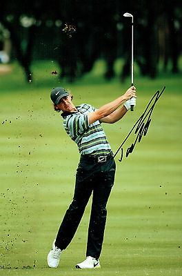 Tommy FLEETWOOD 12x8 Photo Signed Autograph European Tour Winner GOLF AFTAL COA