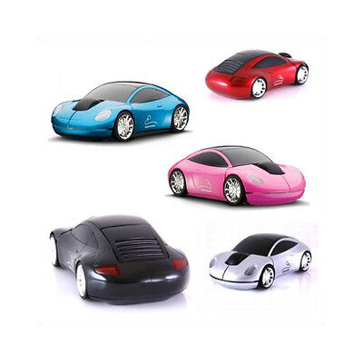 Motormouse Classic Porsche 911 Carrera GT3 Turbo Wireless Computer Mouse Gift