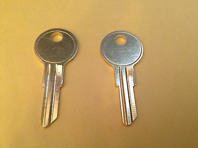 2 Husky Toolbox Keys Code cut to R601-R602-R603-R604 or R605 Tool Box Chest Key