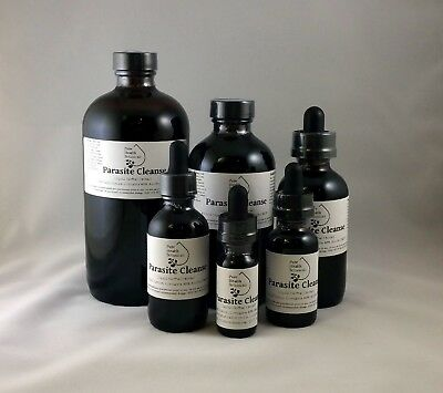 Parasite Cleanse Tincture/Extract- Wormwood,Black Walnut Hull,Clove, Strong