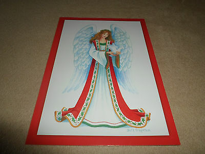 "Beautiful Christmas Angel Christmas Card By Paper Magic,4 1/2"" X 6 1/2"", NEW!"
