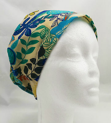 New Hand Made Nurse Theatre Scrub Surgical Chemo Hats Caps (one size fits most)