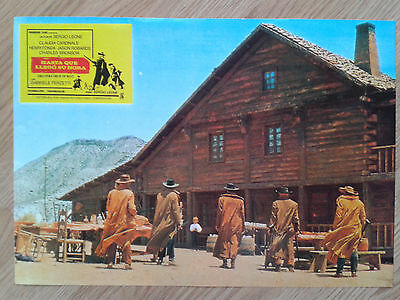 ONCE UPON A TIME IN THE WEST Sergio Leone - rare Spanish LC #3 CARDINALE / FONDA