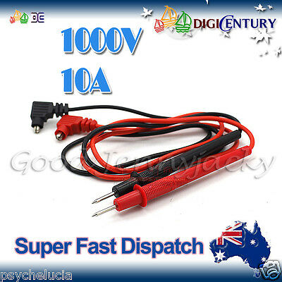 Multimeter Extension Test Lead Probe 1000V 10A Digital Probes for UNI T Fluke