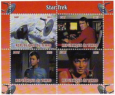 Chad Stamps 2013 Star Trek Original TV Series Collectables / MNH