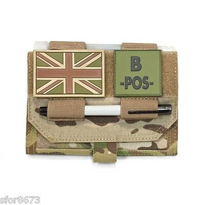 Elite Ops Front Opening Panel Molle Admin Pouch Multicam Coyote Tan Or Black