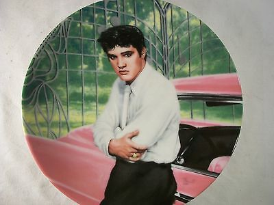 Vintage Elvis Presley Collectible Plate  (LOOKING AT A LEGEND)
