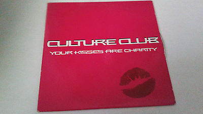 """Culture Club """"Your Kisses Are Charity"""" Cd Single 1 Tracks"""