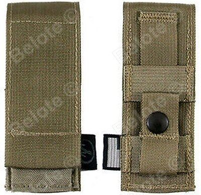 """Leatherman 4.5"""" Sheath Large Molle Brown Fits Wave Blast Charge &More 939907 USA"""