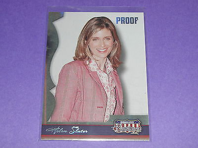 2008 Americana HELEN SLATER #120 Silver Proof Variant/250 Supergirl - Smallville