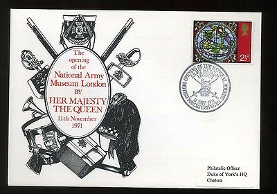 1971 Opening National Army Museum Commemorative Cover BFPS 1261