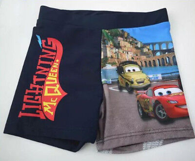 Disney CARS Lightning McQueen Boys Swimmers Bathers SWIM SHORTS Various Size