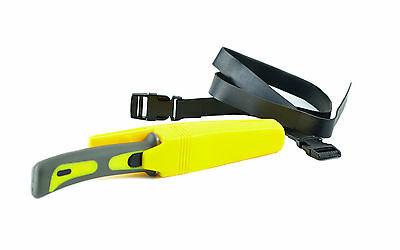 Tauchermesser Edelstahlklinge Beinholster Tauchen Säge Diving-Knife Outdoor Boot