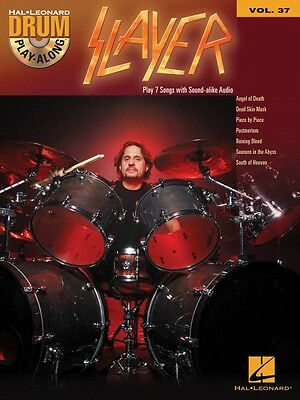 Slayer Drum Play-Along Book and CD NEW 000139861