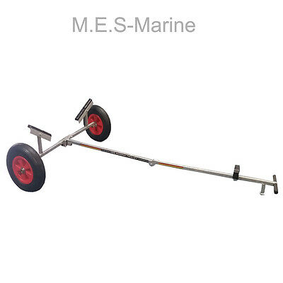 SBS High Quality Marine Folding Launch Trolley with Bag For Inflatable Boats